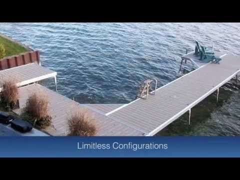 DockinaBox Product Video 2015 Aluminum Boat Dock & Boat Lift Ontario Canada