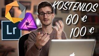 Bildbearbeitungsprogramme für JEDEN Geldbeutel (KOSTENLOS bis 100€)