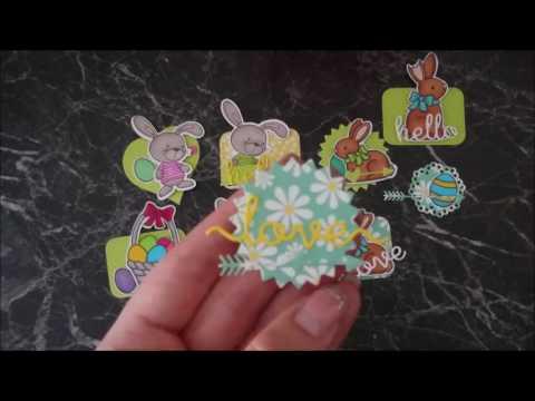#CraftUpdate Oster-Card Candys|Designteam Mona's Kreativwerkstatt