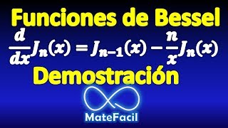 04. Derivative of Bessel Functions (first kind, integer order). DEMONSTRATION