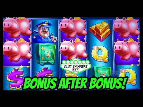 PIGGY BANKIN ‼️ BONUS AFTER BONUS 💲 LOCK IT LINK FUN WITH THE SLOT SHIMMERS 🤑