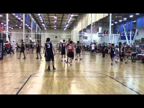 Central Cal Boys Volleyball 18-2 vs Akamai 11-14-15 Game 1