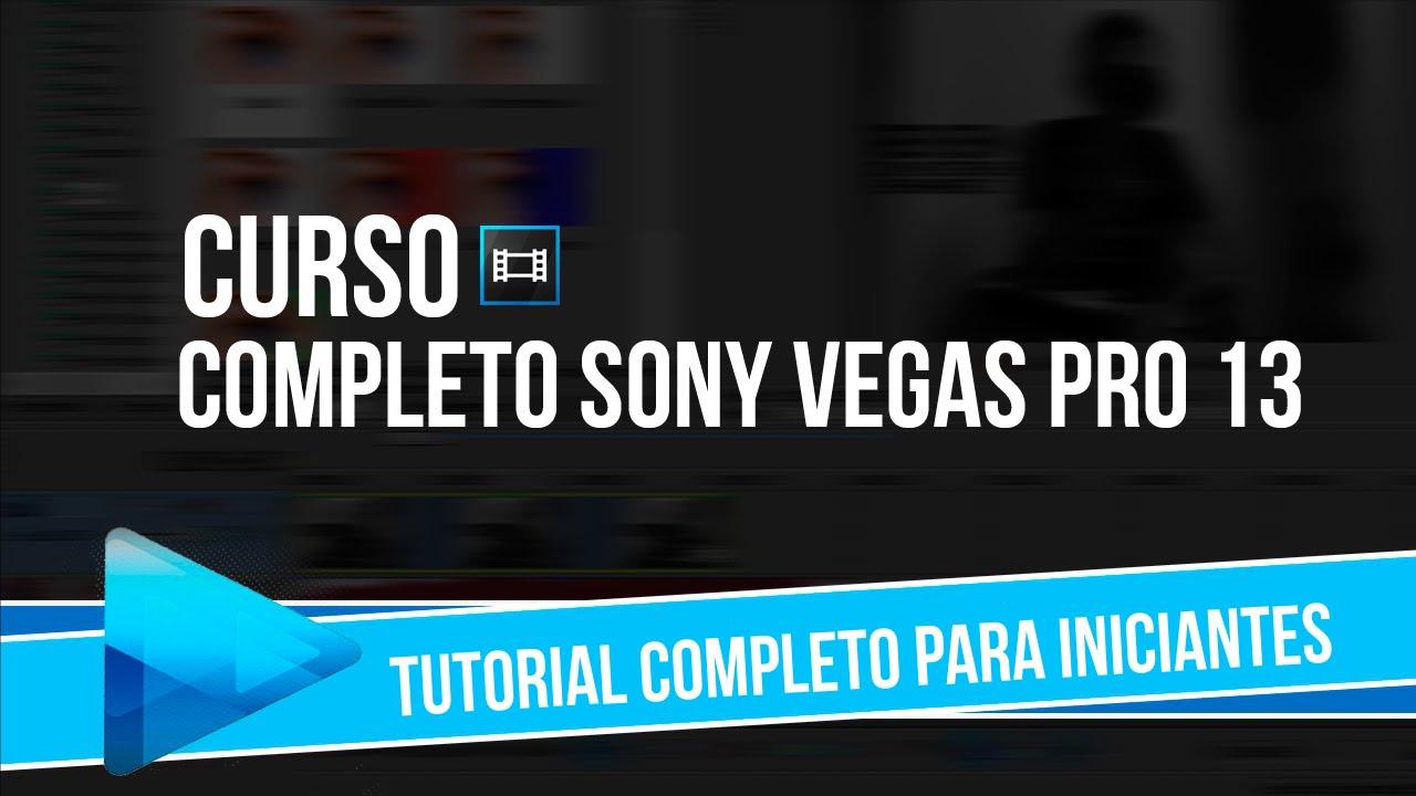 Tutorial Sony Vegas Pro 13 para Iniciantes