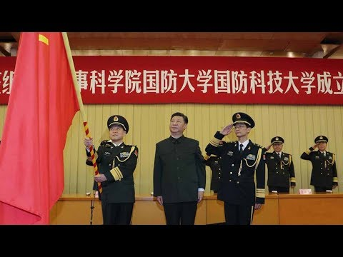 President Xi calls for world-class military research, schools