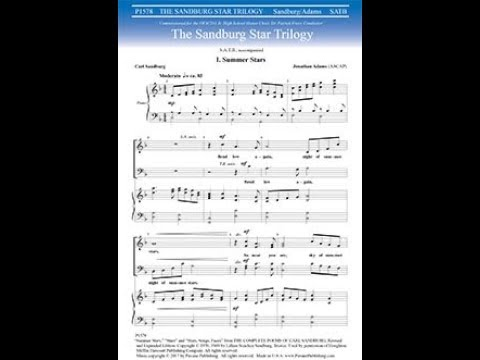 The Sandburg Star Trilogy  by Jonathan Adams