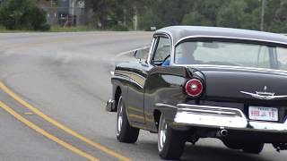 1957 Ford Fairlane 500 Two Door Hardtop classic 1950s car test drive with Samspace81