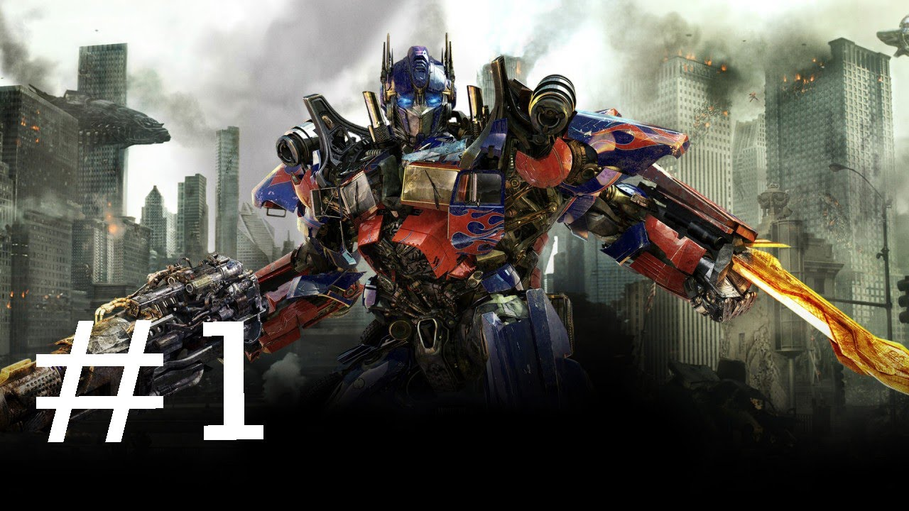Transformers 3 Dark Of The Moon Game: Gameplay Part 1 ...