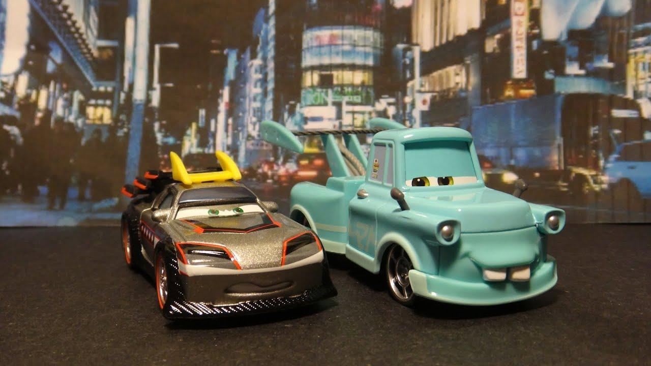 Disney/Pixar Cars Tokyo Mater Vs Kabuto