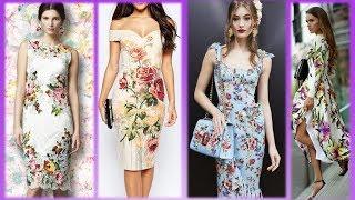 видео Свадебное платье с цветочным принтом : НОВОСТИ МОДЫ
