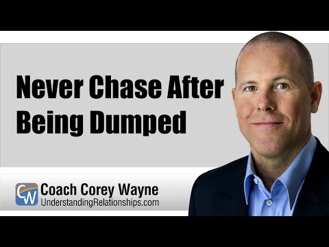 Never Chase After Being Dumped