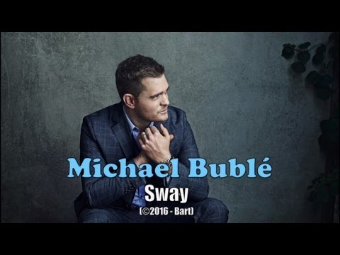 Michael Bublé - Sway (Karaoke)