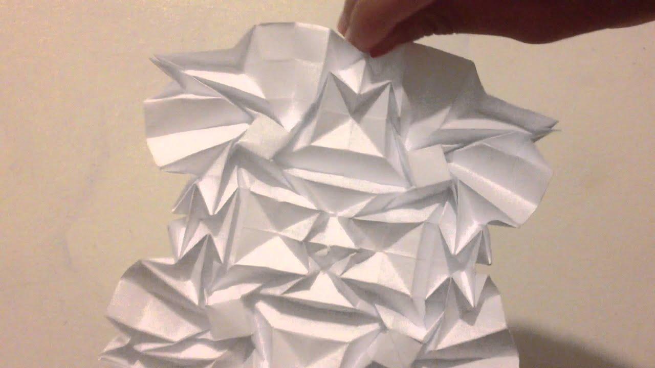 origami crazy flasher tessellation ver b greenart4