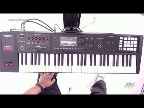 Roland FA-06 Synthesizer Workstation Keyboard - SuperNATURAL Acoustic