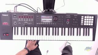 Roland FA-06 Synthesizer Workstation Keyboard - SuperNATURAL Acoustic