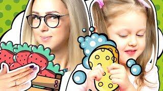 Продавец Мороженого, Хозяюшка и Следим за диетой мамы! Лучшие серии Амельки Карамельки Kids Video