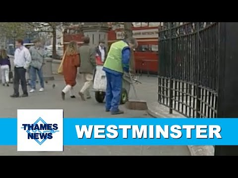 Westminster's Environmental Issues | Thames News Archive Footage