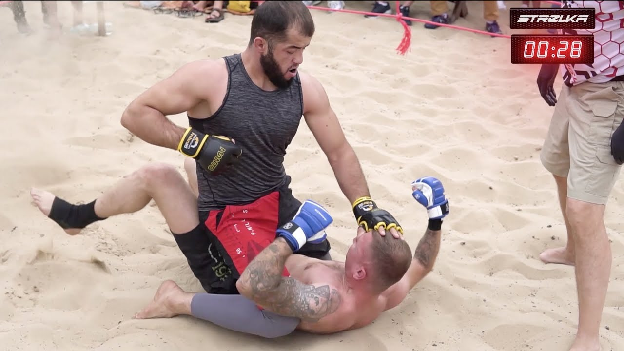 MUSLIM WRESTLER vs UKRAINE FIGHTER !!!!
