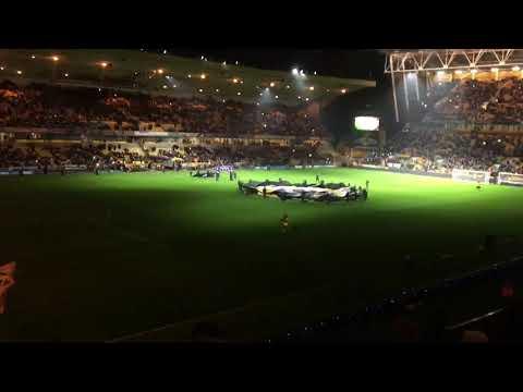 Wolves v Chelsea pre game light show