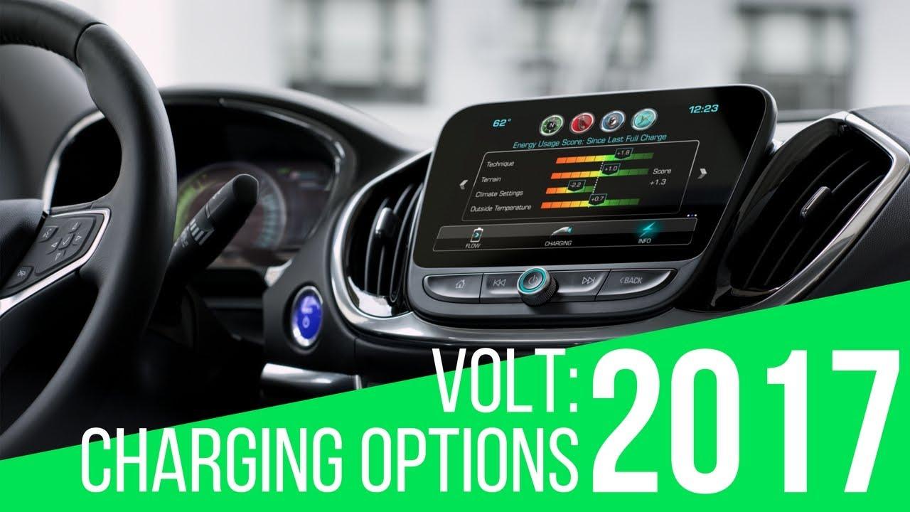 2017 Chevrolet Volt Charging Options