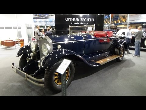1925, Mercedes-Benz Murphy Coachbuilder, Exterior and Interior, Retro Classics Stuttgart 2015