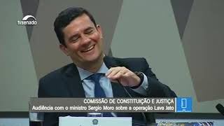 MINISTRO SERGIO MORO SÓ CONSEGUIU RIR COM O SENADOR KAJURU E SEU JEITO SUPER SINCERO!!!