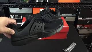 "Nike Air Presto ""Black Out"" Unboxing Review"