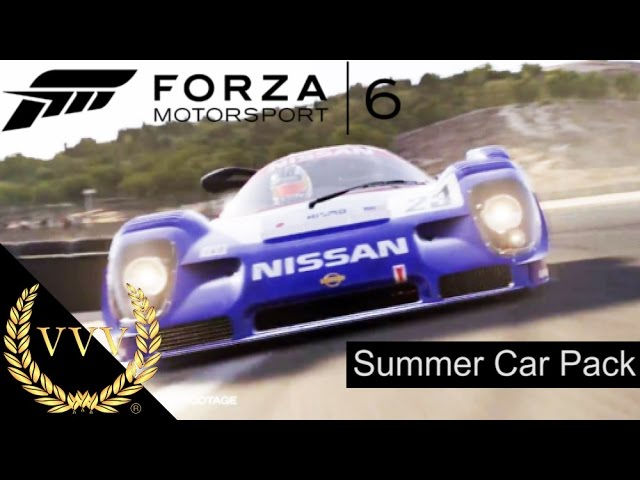 Forza Motorsport 6 Summer Car Pack Trailer