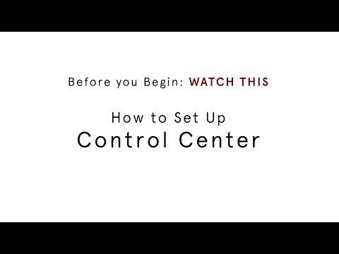 Control Center + Universal TV Remote – Caavo