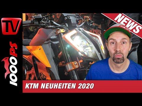 KTM 890 Duke R und 1290 Super Duke R 2020 Neu auf der EICMA 2019 - Unterschiede und Vergleich