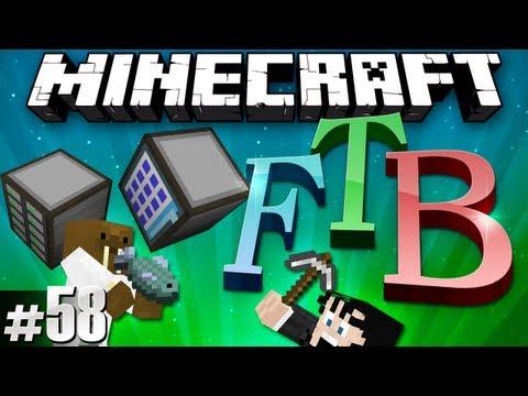 Minecraft Feed The Beast #58 - Applied Energistics!