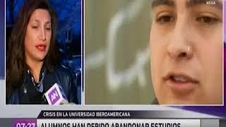 Entrevista vocera de estudiantes U. Iberoamericana, Paz Gajardo
