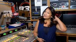 GLORIA B. de 93.1 AMOR en NEW YORK