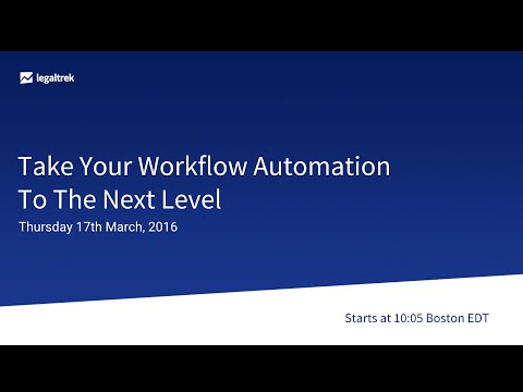 [Webinar] Take Your Workflow Automation To The Next Level