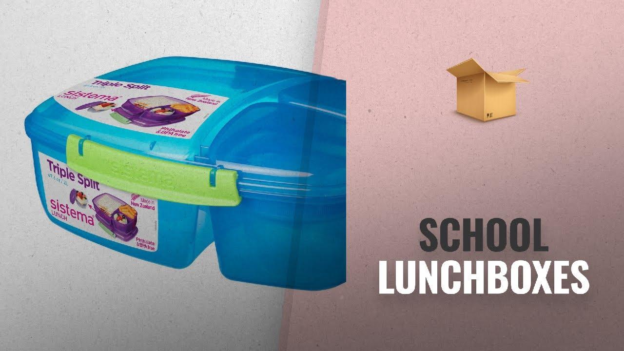 3c8b722b9997 Back To School Lunchboxes Ideas  2018   Sistema Lunch Triple Split ...