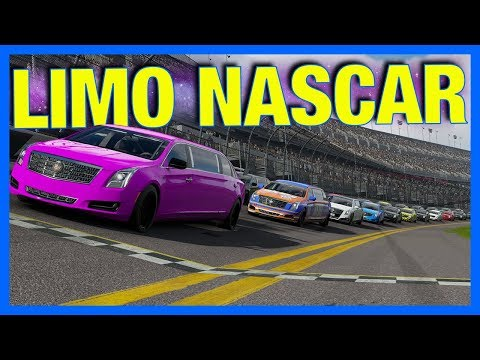 Forza 7 Online : LIMO NASCAR!!