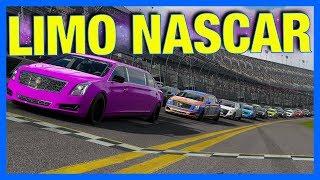Forza 7 Online : LIMO NASCAR!!