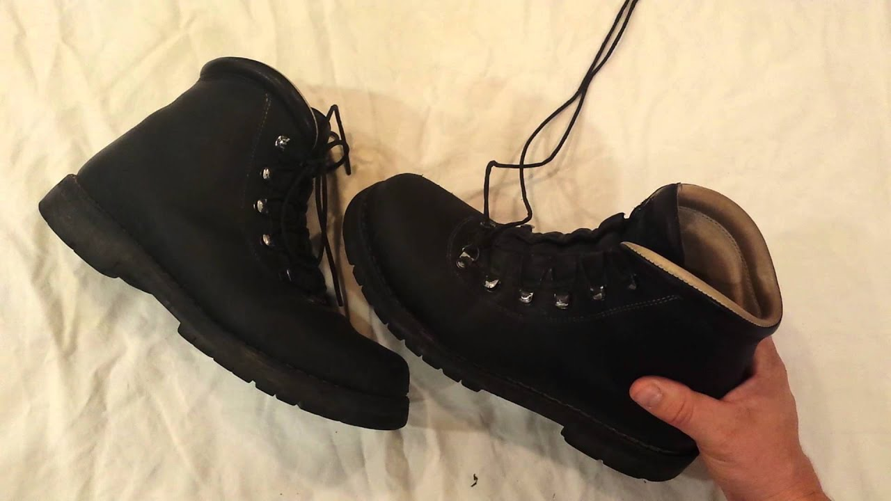 Limmer Custom hiking boots. BEST IN THE WORLD - YouTube