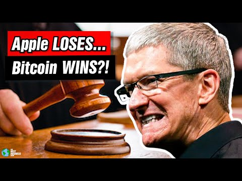 Apple Just Lost a MAJOR Antitrust Case That Helps Bitcoin
