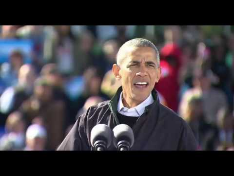 President Obama SLAMS Donald Trump in Cleveland, Oh FULL Speech 10/14/16