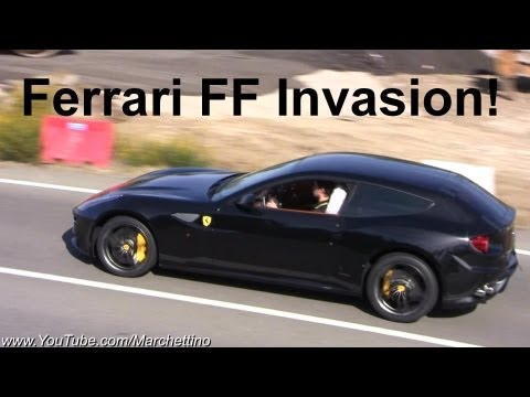 Ferrari FF Invasion! - 15x of them!