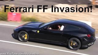 Ferrari FF Invasion! - 15x of them!