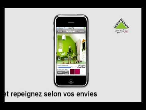 application iphone leroy merlin youtube. Black Bedroom Furniture Sets. Home Design Ideas