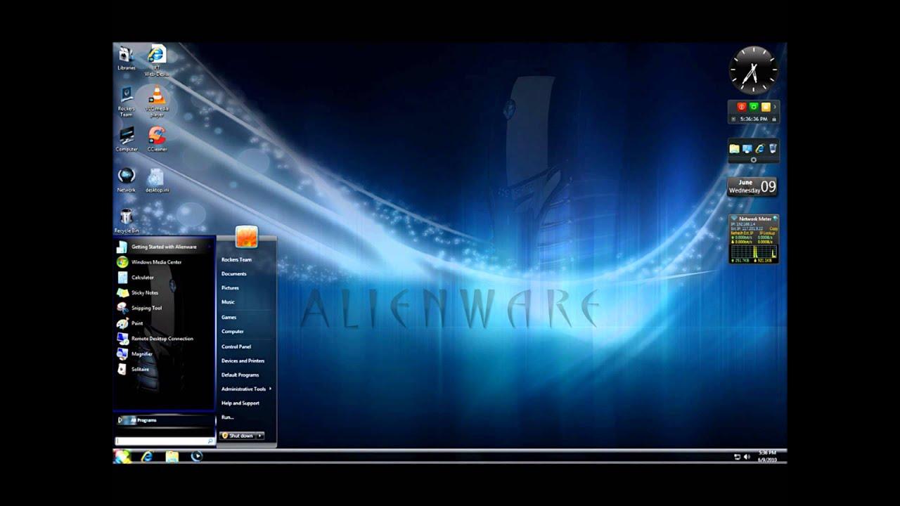 alienware windows 7