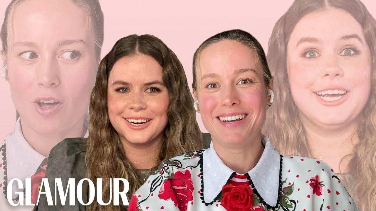 Brie Larson and Jessie Ennis Take a Friendship Test   Glamour