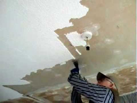 Removing Polystyrene Ceiling T   YouTube