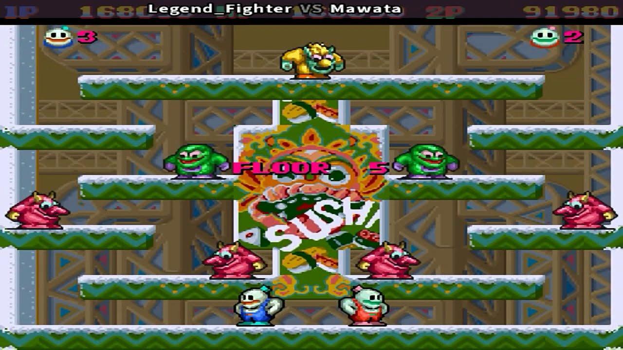 Snow Bros - Legend_Fighter & M4wata