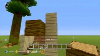 Minecraft Xbox | TU12 | How To Place Upside Down Stairs!!