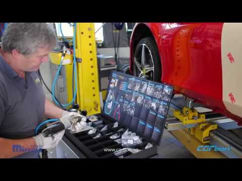 Repair of the Side Panel on a Ferrari 458