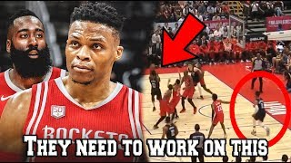 What we Learned from Russell Westbrook & James Harden Rockets NBA Preseason Debut (Highlights Dance)