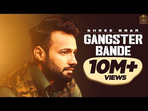 Gangster Bande (Lyrical Video) | Shree Brar | Avvy Sra | Harry Cheema | Latest Punjabi Songs 2018